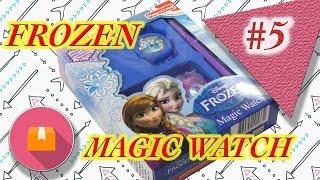 Frozen Magic watch! Распаковка! Как можно это пропустить!? Плетение из резинок.