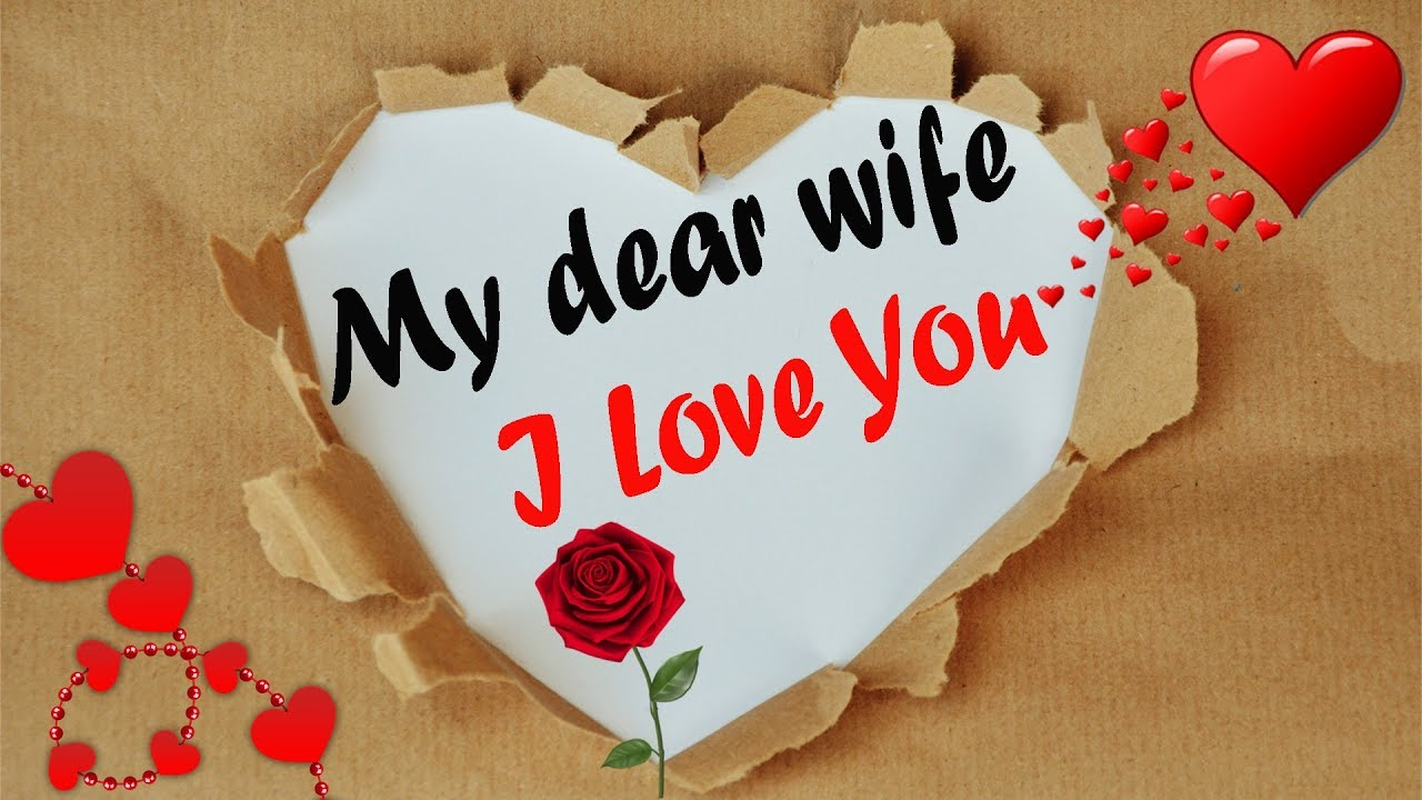 I Love You Wife I Love You Message For Wife Love