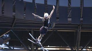В Минске проходит чемпионат Беларуси по прыжкам на лыжах в воду