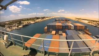 Suez canal  in 3.5 minutes