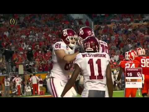 Baker Mayfield(Oklahoma QB) vs Clemson 2015