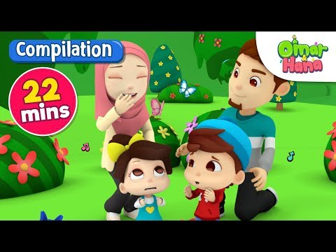 Islamic Songs For Kids | Compilation | Let's Get Gardening And More | Omar & Hana