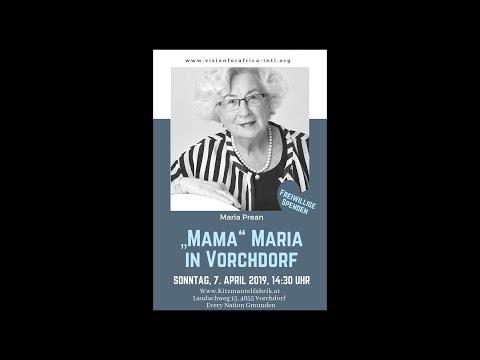 Maria Prean erzählt über ihr Leben als Missionarin