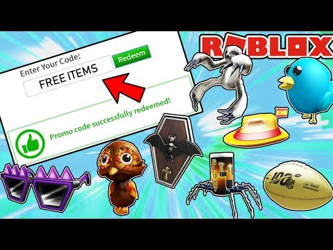 ALL ACTIVE WORKING PROMO CODES AND FREE CATALOG ITEMS IN ROBLOX – November 2019