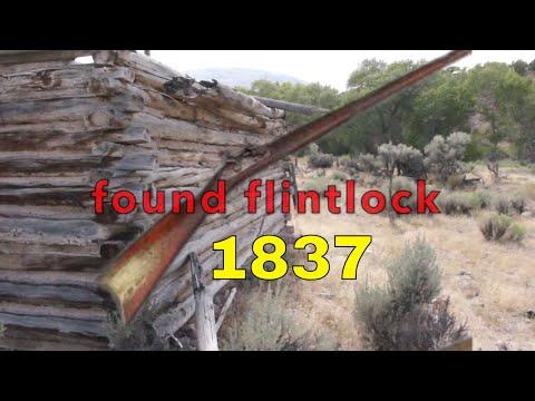 Elk Hunter find 1837 Flint Lock Rifle while Hunting