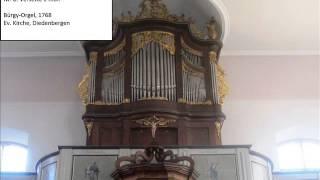 Michael Henkel: 48 Orgelstücke op. 96 - Teil 1