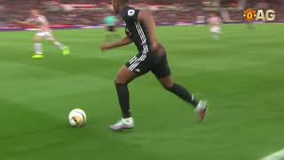 anthony martial crazy dribbling and goals
