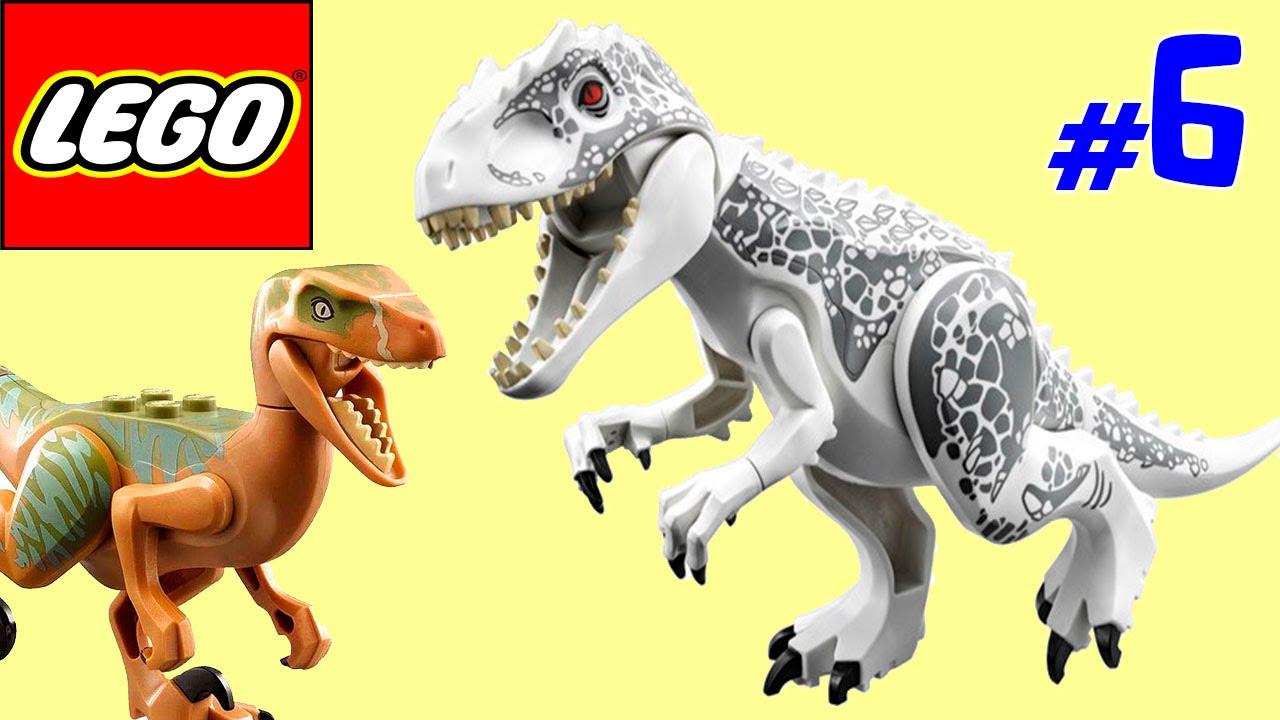 Лего парк юрского периода игра