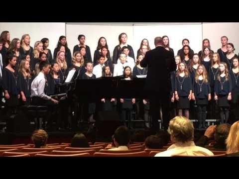 Saint Andrews School Saratoga Middle School Choir Anaheim Heritage Festival 2016