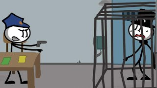 Prison Escape: Stickman Adventure All Level 1-8 Gameplay Walkthrough HD