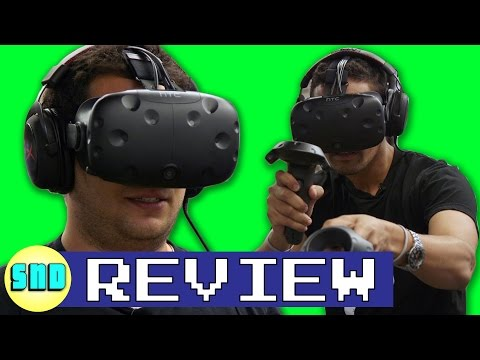 HTC Vive Review: Virtual Reality is back!
