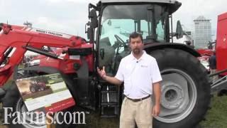 New Massey Ferguson Global Series Tractors Previewed At Farm Progress Show.