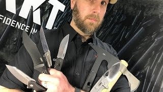 TOP 10 Knives from CRKT 2017 Line-Up: Knives, Tomahawks, Everyday Carry Knives, Fixed Blades