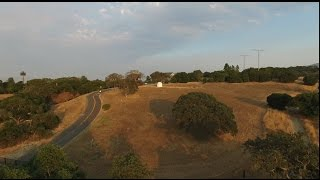 Phantom 3 Video - Exposure Experiment in and out of the Setting Sun