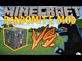 LE MINERAI FULL RANDOM !! - MOD RANDOMITE Minecraft [FR] [HD]