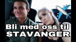 VLOGG- BLI MED OSS TIL STAVANGER♡