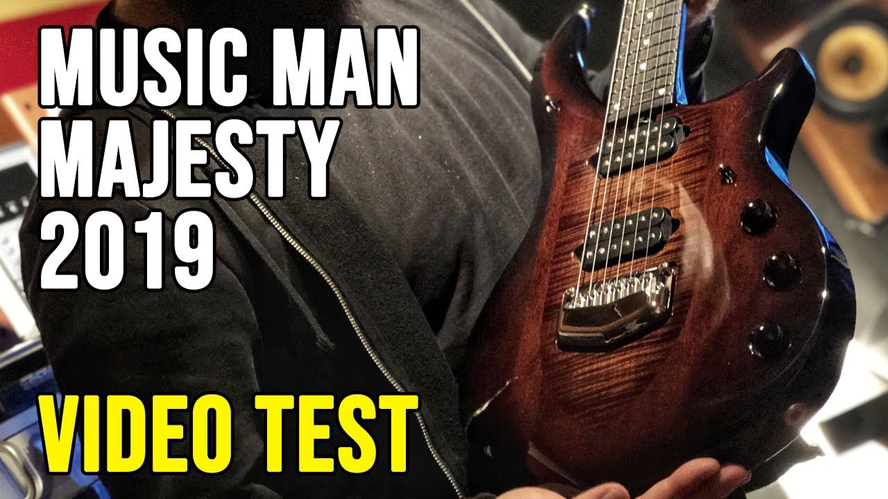 Music Man John Petrucci Majesty 2019 Video Test Gear In Action Youtube