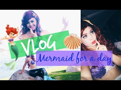 ARIEL FOR A DAY?! Princess Vlog!