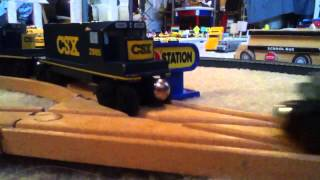 Toy Wooden Train Meet Csx