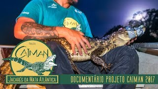 Conheça o Projeto Caiman - Jacarés da Mata Atlântica