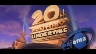 """An undertale recreation of the famous """"20th Century Fox"""" logo. I ow..."""
