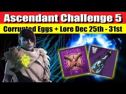 Ascendant Challenge 5 Dec 25th-31st With Corrupted Eggs & Lore Destiny 2
