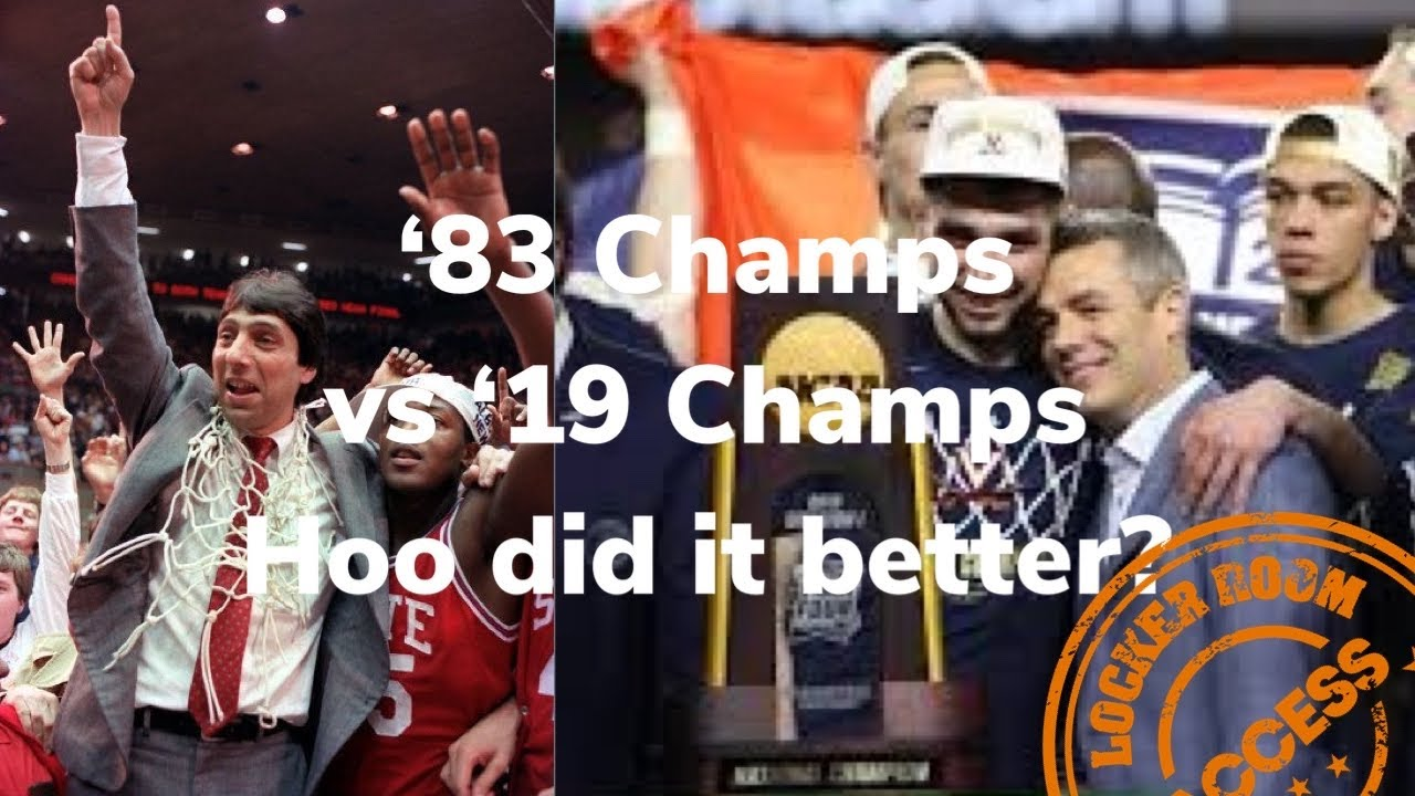 Dereck Whittenburg 30 for 30 on 1983 NC State to 2019 Virginia Championship, Jimmy V vs Tony Bennett