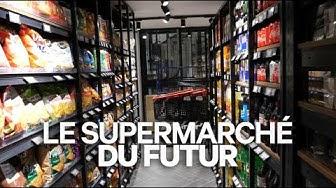 Le supermarché du futur inauguré à Paris