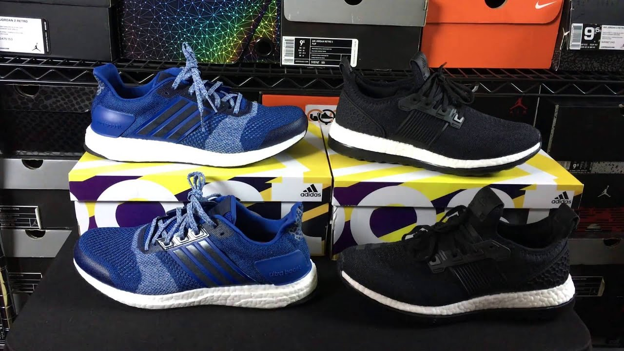 buy online 750bd 5d628 ... good adidas ultraboost st pure boost zg unboxing review 445a2 6a156