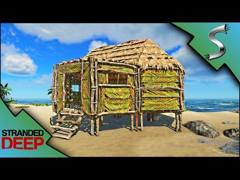 BUILDING A HOUSE! NEW ROOFING SYSTEM! BRICK STATION! - Stranded Deep [Gameplay E7]