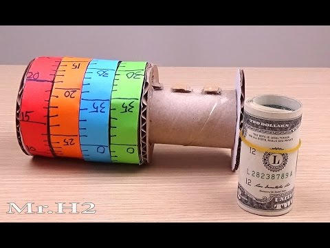 How to Make Combination Vault from Cardboard and Toilet Paper Rolls - DIY Combination Lock