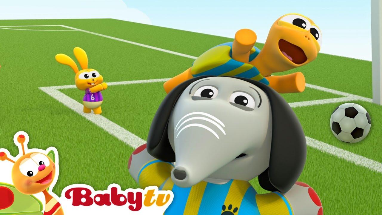 O Esporte Clube da BabyTV apresenta o jogo de futebol   Olimpíadas #Tokyo2020