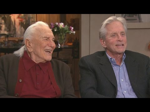 Watch Michael Douglas Sneak Up On His Legendary Dad Kirk Douglas