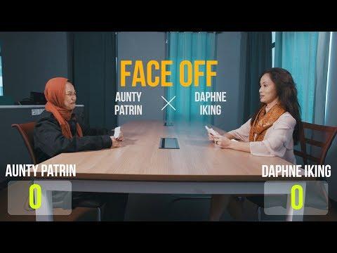 Face off: Aunty Patrin vs Daphne Iking
