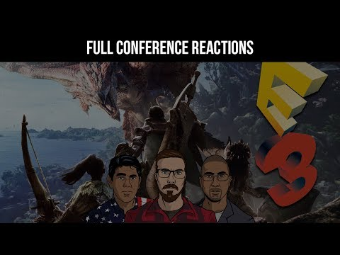 Sony Full Press Conference Live Reactions - E3 2017