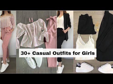 30 Casual Outfits for Girls 2021   Dressing Style for Girls • Lookbook Korean Dress STYLE GRAM