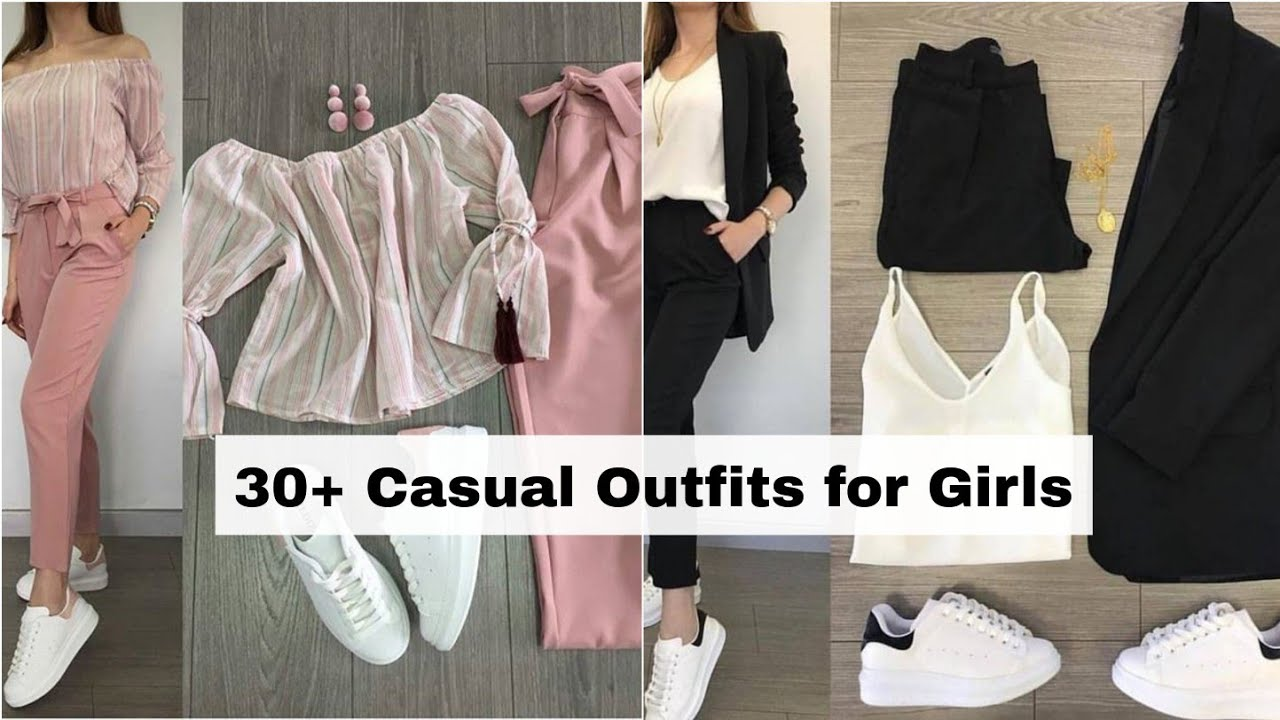 30 Casual Outfits for Girls 2021 | Dressing Style for Girls • Lookbook Korean Dress STYLE GRAM