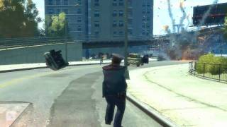 GTA 4 gameplay Awesome day for Niko (HD)