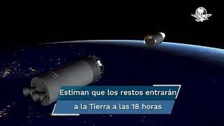 Especialistas estiman que los restos del Long March 5B entrarán a la Tierra a las 18 horas, tiempo de la Ciudad de México