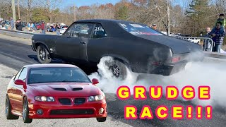 Grudge Racing The Attempted Murder Nova Plus a New Contest! Finnegan's Garage Ep.123