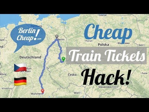 Cheap German Train Tickets at the Czech Railways