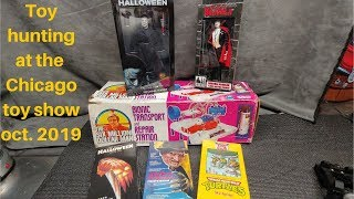 Toy hunting At the Chicago toy show Oct 2019.