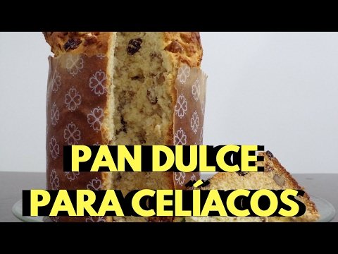 PAN DULCE PARA CELÍACOS | Cómo hacer pan dulce sin gluten