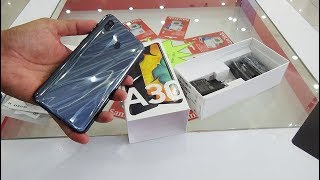 Unboxing Samsung Galaxy A30 black color