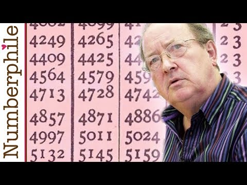 Log Tables - Numberphile