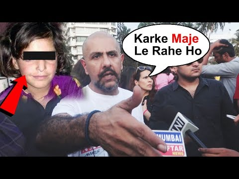 Angry Vishal Dadlani SLAMS A Person At Asifa Justice Protest In Mumbai