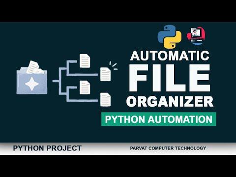 Automatic File Organizer using Python | Python Automation Project