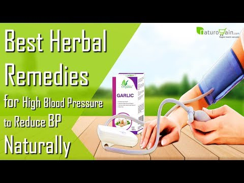 Best Herbal Remedies to Control BP Reduce High Blood Pressure Naturally