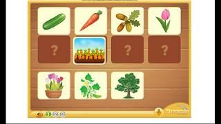 детская игра,учим цвета,овощи и фрукты,детям 2 3 4 лет