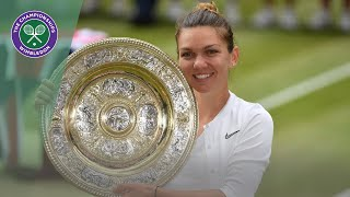 Simona Halep vs Serena Williams Wimbledon 2019 final highlights